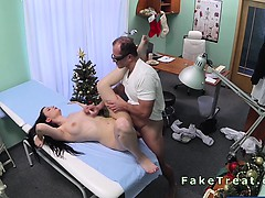 Beautiful European patient fucked