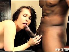 Prince Yahshua and Jackie Jevaux. Hot Action BJ