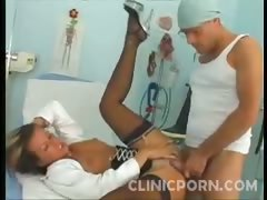Clinic Sex Pussy Cramming