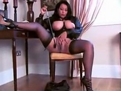 Busty Mistress Shows Off Her Privates