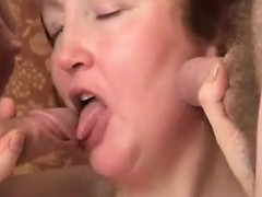 Mature Slut Has Fun With Two Horny Guys