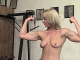 Fit, Mature Karen in the SheMuscle Gym