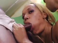 sexy chicks in Brazilian gangbang