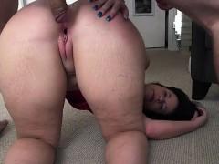 Brunette Bends Over And Gets Fucked Hard
