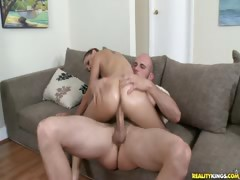 Esmi get her tight little pussy fucked.