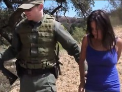 Agent has hardcore sex with civilian babe and gave a facial