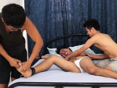 Gay Asian Twink Danilo Gets Tickled