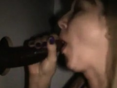 Joyful spouse and glory hole cum that is BBC