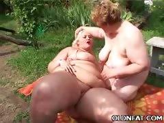 Fat Mature Women Enjoy Lesbian Oral
