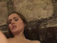 Russian Babe In Devil's Threeway