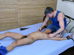 Twink Asian Boy Rave Tied and Tickled