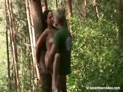 Screwing in the forest