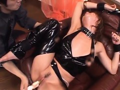 Sweet porn moments along naughty Akane Hotaru
