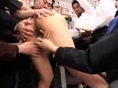 Lustful Japanese Ladies Feed Their Hunger For Hard Cock And