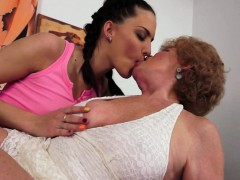 Lovely Teen Asslicked By Wild Granny