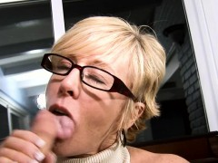 Aged Playgirl Goes Hardcore To Get Sticky Creampie