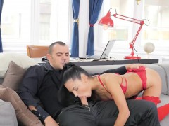 Naughty Spanish Chick Apolonia Sucks A Dick And Gets Pounded