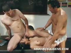 Asian Jade Double Penetration