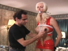 Older Slut Gets Spanked Hardcore Style By A Younger Dude
