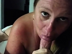 Mature blonde in pov fucking