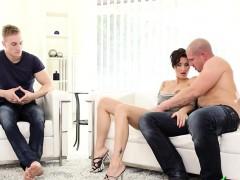 Amazing European Fmm Bi Threesome