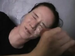 Amateur girlfriend home blowjob anal and facial cumshot