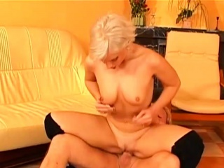 Cute blonde loves to do anal