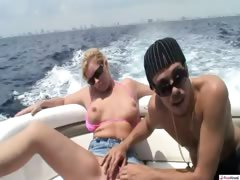 We were heading out to sea for some fun in the sun. On our
