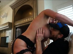 Big Titted MILF Kelly Madison Stuffs Big Cock In The Titties