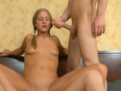 Lusty interracial 3some