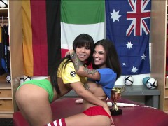 Webshow with Rose Monroe and two referee