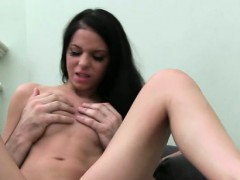 Playgirl gives raucous pecker riding