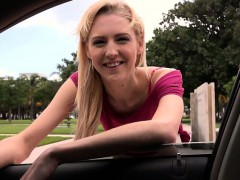 Beautiful Blonde Mila Evans arguing with bf gets spotted