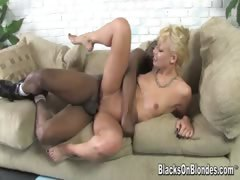 This week's hot scene starts with exotic blonde Maya