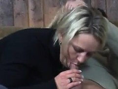 Mature Couple Having Sex In The Barn