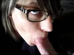 Cum Swallowing Teenager fucks and sucks