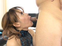 Amorous asian fucking between honey and hunk