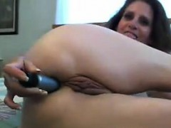 Nasty Old Woman Masturbates