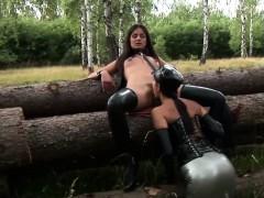 Latex and ultra fetish bdsm banging