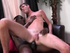 Black dude jizzes whitey