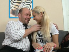 Mind-blowing from behind fucking with lustful old teacher