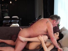 Old and Young Porn Sweet innocent girlfriend fucked