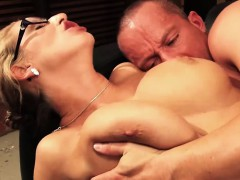 Extremely pleasing cougar Jana Diskret takes a hard cock in