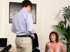 Frisky bombshell gets sperm load on her face sucking all the