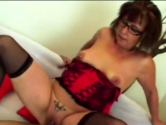 Filthy Old Bitch Got Smacked By A Fat Boner In Doggy Style