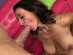 Hairy pussy gets drilled by a horny dude