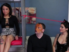 Spicy nympho is taken in anal nuthouse for harsh treatment