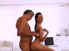 Old man gangbang xxx Finally she's got her boss dick