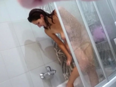Ex Wife On This Voyeur Video Taking A Shower