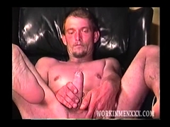 Mature Amateur Billy Beating Off